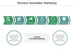 Demand Generation Marketing Ppt Powerpoint Presentation File Template Cpb