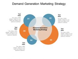 Demand Generation Marketing Strategy Ppt Powerpoint Presentation Icon Graphics Tutorials Cpb