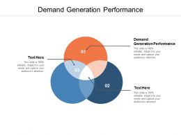 Demand Generation Performance Ppt Powerpoint Icon Background Cpb