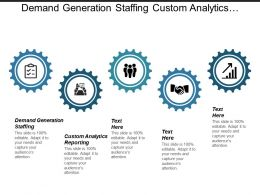 Demand Generation Staffing Custom Analytics Reporting Marketing Strategy Cpb