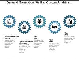 Demand Generation Staffing Custom Analytics Reporting Marketing Strategy Cpb