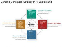 Demand Generation Strategy Ppt Background
