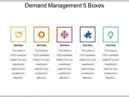 Demand Management 5 Boxes