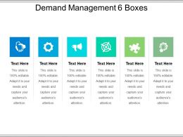 Demand Management 6 Boxes