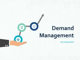 Demand Management Distribution Transport Supply Management Marketing Finance