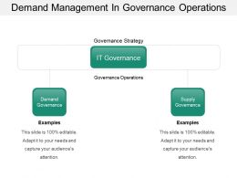 Demand Management In Governance Operations