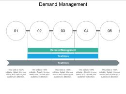 Demand Management Ppt Powerpoint Presentation Summary Styles Cpb