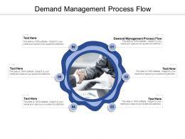 Demand Management Process Flow Ppt Powerpoint Presentation Summary Information Cpb