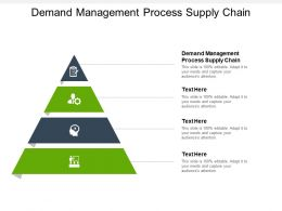 Demand Management Process Supply Chain Ppt Powerpoint Presentation Show Deck Cpb