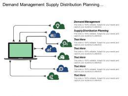Demand Management Supply Distribution Planning Collaboration Vendor Managed Inventory