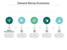 Demand Money Economics Ppt Powerpoint Presentation Model Inspiration Cpb