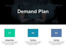 Demand Plan Ppt Powerpoint Presentation Professional Example Introduction Cpb