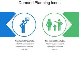 Demand Planning Icons