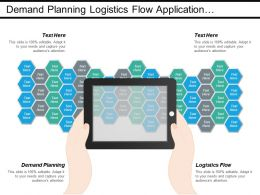 Demand Planning Logistics Flow Application Development Product Management Cpb