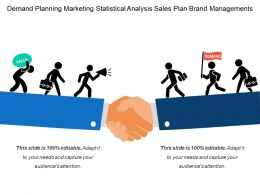Demand Planning Marketing Statistical Analysis Sales Plan Brand Managements