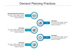 Demand Planning Practices Ppt Powerpoint Presentation Outline Graphic Tips Cpb