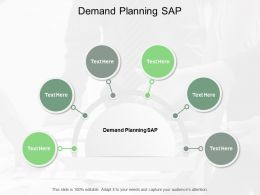 Demand Planning SAP Ppt Powerpoint Presentation Show Brochure Cpb