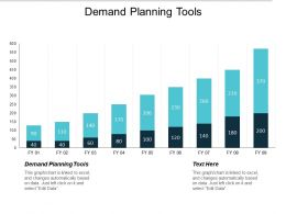 Demand Planning Tools Ppt Powerpoint Presentation Slides Brochure Cpb
