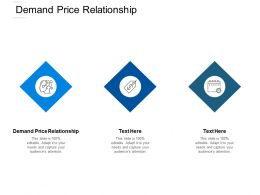 Demand Price Relationship Ppt Powerpoint Presentation Ideas Files Cpb