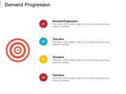 Demand Progression Ppt Powerpoint Presentation Portfolio Backgrounds Cpb