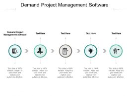 Demand Project Management Software Ppt Powerpoint Show Templates Cpb