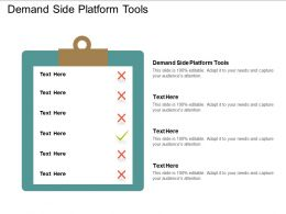 Demand Side Platform Tools Ppt Powerpoint Presentation Gallery Shapes Cpb