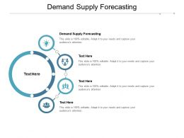 Demand Supply Forecasting Ppt Powerpoint Presentation Infographic Template Graphics Cpb