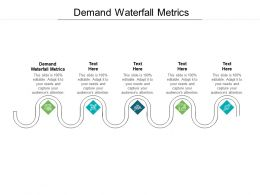 Demand Waterfall Metrics Ppt Powerpoint Presentation Slides Images Cpb