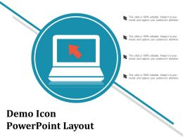 Demo Icon Powerpoint Layout