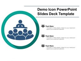 Demo Icon Powerpoint Slides Deck Template
