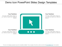 Demo Icon Powerpoint Slides Design Templates