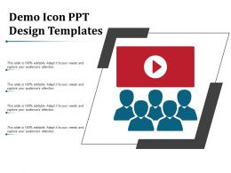 Demo Icon Ppt Design Templates