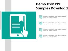 Demo Icon Ppt Samples Download