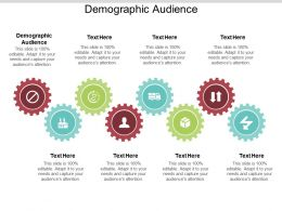 Demographic Audience Ppt Powerpoint Presentation Show Layout Ideas Cpb