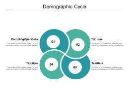 Demographic Cycle Ppt Powerpoint Presentation Portfolio Outline Cpb