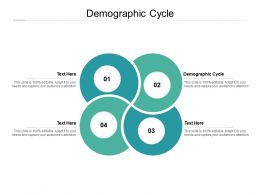 Demographic Cycle Ppt Powerpoint Presentation Professional Graphics Design Cpb