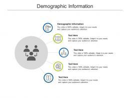 Demographic Information Ppt Powerpoint Presentation Portfolio Information Cpb