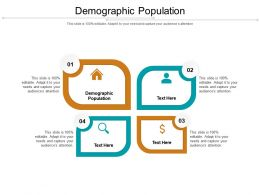 Demographic Population Ppt Powerpoint Presentation Professional Format Ideas Cpb