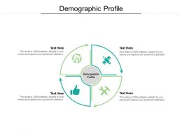 Demographic Profile Ppt Powerpoint Presentation Slides Cpb