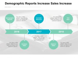 Demographic Reports Increase Sales Increase Revenue Improve Sales Cpb