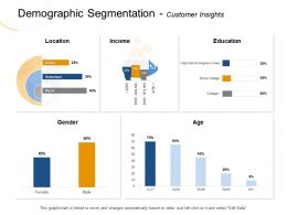 Demographic Segmentation Customer Insights Rural Ppt Powerpoint Presentation File Images
