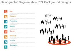 Demographic Segmentation Ppt Background Designs