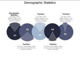 Demographic Statistics Ppt Powerpoint Presentation Ideas Portfolio Cpb