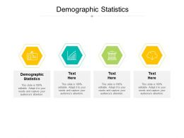 Demographic Statistics Ppt Powerpoint Presentation Layouts Layouts Cpb