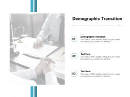 Demographic Transition Ppt Powerpoint Presentation Icon Design Ideas Cpb