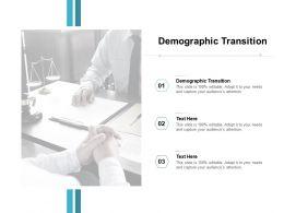 Demographic Transition Ppt Powerpoint Presentation Icon Design Ideas Cpb