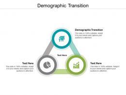 Demographic Transition Ppt Powerpoint Presentation Professional Slides Cpb