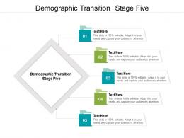Demographic Transition Stage Five Ppt Powerpoint Presentation Styles Shapes Cpb
