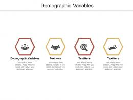 Demographic Variables Ppt Powerpoint Presentation Styles Show Cpb