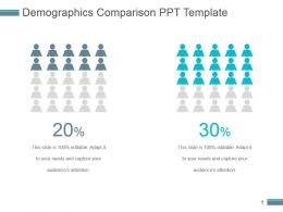Demographics Comparison Ppt Template